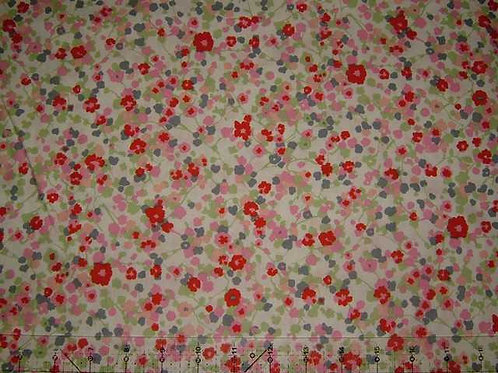 Hokkoh Covent Garden Floral Quilt Fabric Col 6