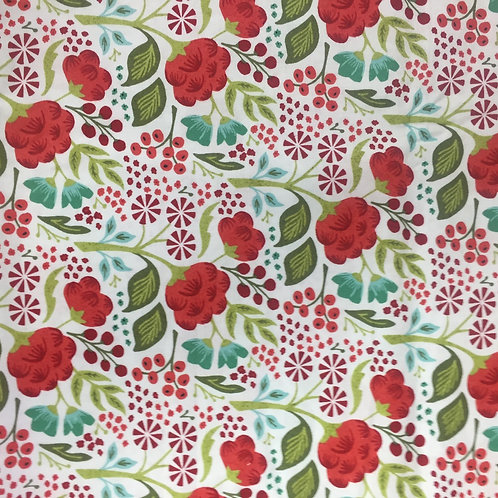 Moda Holly Jolly Vanilla 30431-11 Quilt Fabric