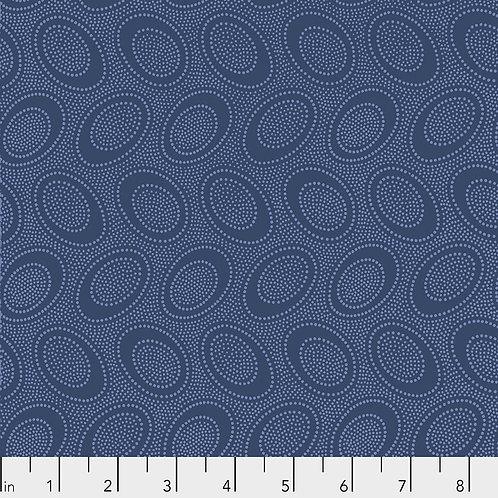 Kaffe Fassett Spring 2019 - Aboriginal Dot Denim PWGP071 DENIM Quilt Fabric