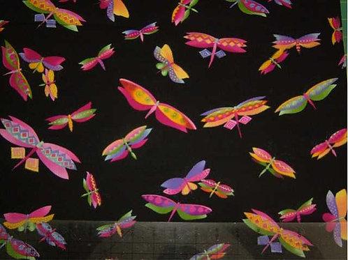 Japanese Flutter Col 4 Novelty Quilt Fabric