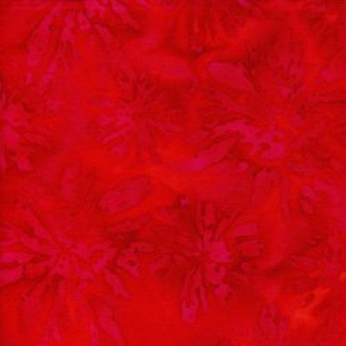 Island Batiks IKF13T-A2 Red Quilt Fabric