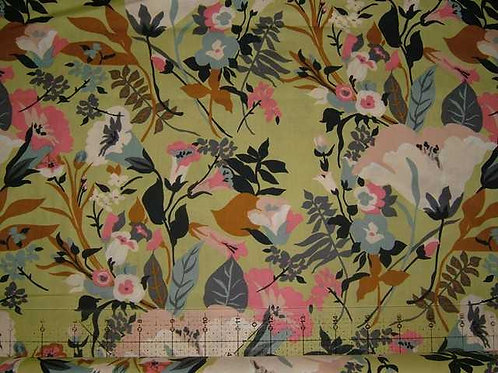 Hokkoh Covent Garden Floral Quilt Fabric Col 8
