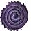 "Thumbnail: Batik ""Purple Rain"" Designer Roll - 20 x 5"" x WOF"