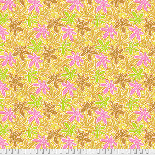 Kaffe Fassett Classics - Lacy Leaf PJ093 YELLO Quilt Fabric