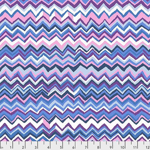 Kaffe Fassett Feb2020 - Zig Zag PWBM043 SKY Quilt Fabric