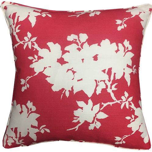 Designers Guild Jasper Conran 'Sprig' Red & White Colourway Cushion Cover