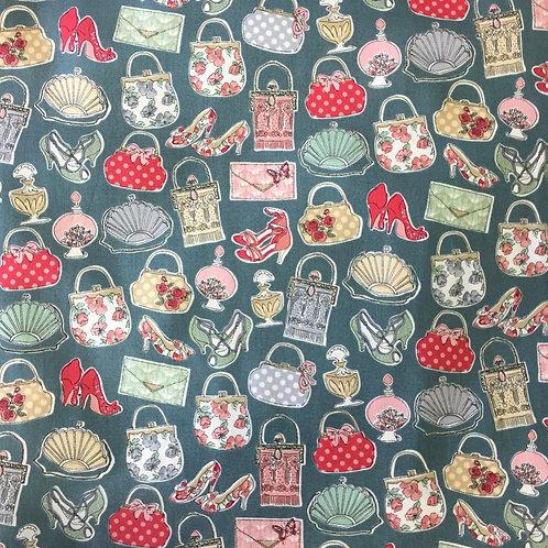 Makower Temptations Handbags Quilt Fabric