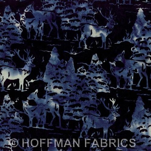 Hoffman Handpaint Batik Moonstruck Quilt Fabric