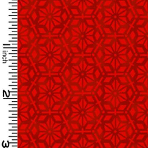 Kona Bay Geisha Dynasty GEIS-23RED Quilt Fabric