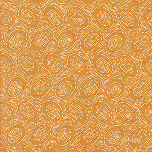 Kaffe Fassett Classics - Aboriginal Dot Cantaloupe GP71 CANTA Quilt Fabric