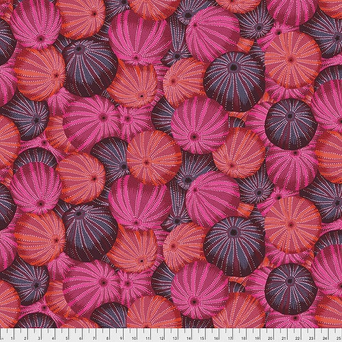 Kaffe Fassett Spring 2019 - Sea Urchins Red PWPJ100 RED Quilt Fabric