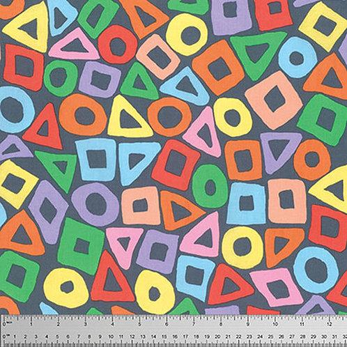 Kaffe Fassett Classics - Puzzle PWBM057 Grey Quilt Fabric
