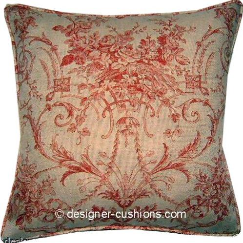 Laura Ashley Tuileries Burnt Sienna Cushion Cover