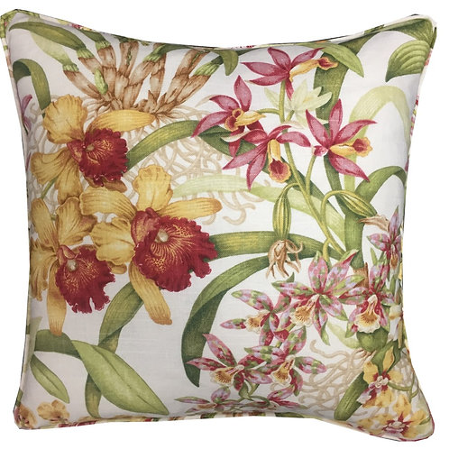5th Avenue Covington 'Wild Orchid' Linen Cushion Covers