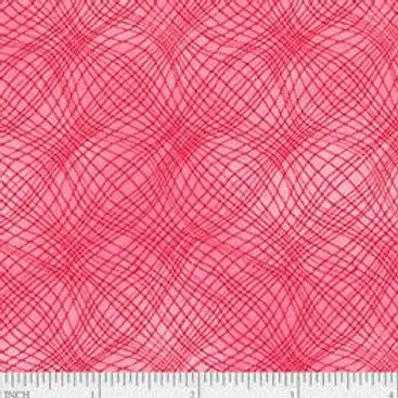 "PB Textiles ""Mesh"" Strawberry Blender Quilt Fabric 4725.26703STRA1"