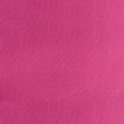 Hot Pink Homespun Cotton Quilt Fabric