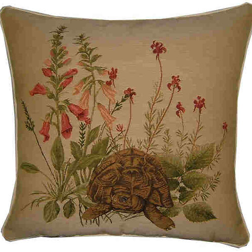 Hedgerow Tortoise Tapestry Cushion Cover