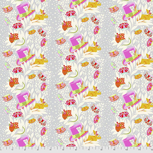 """Tula Pink """"Curiouser"""" 6pm Somewhere Wonder PWTP165 Quilt Fabric"""