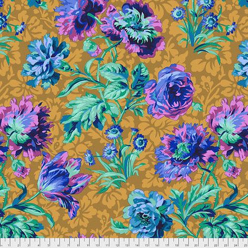 Kaffe Fassett Classics - Baroque Floral PJ090 BLUEX Quilt Fabric