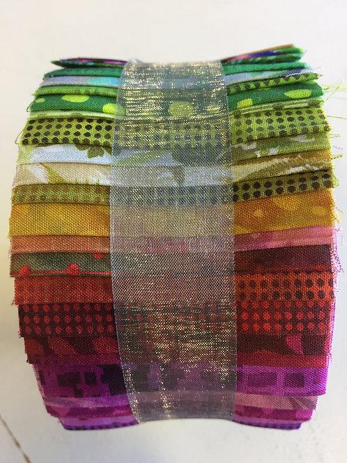 "Jason Yenter Jelly Roll - 40 x 2.5"" WOF Strips"