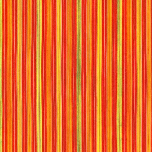 Robert Kaufman Synchronicity Stripe Fiesta 18694-194 Quilt Fabric