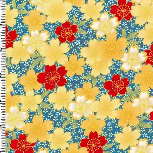 Kona Bay Geisha Dynasty GEIS-20RED Quilt Fabric