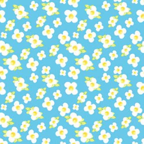Tussie Mussie Jennifer Heyman 7JHC3 Quilt Fabric