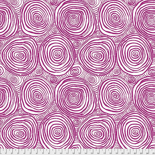 Kaffe Fassett Spring 2019 - Onion Rings Purple PWBM070 PURPLE Quilt Fabric