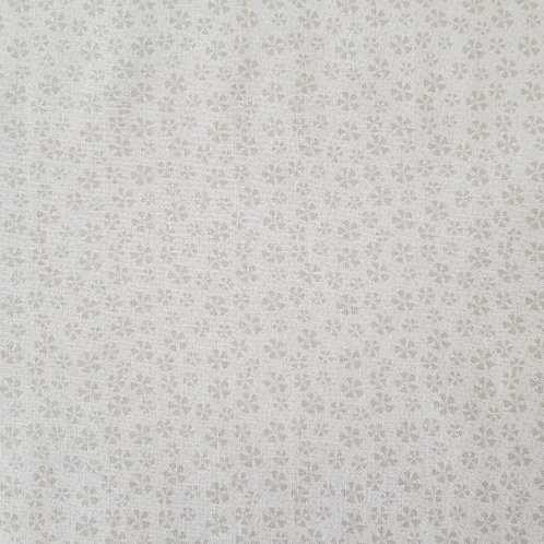 "Lynette Anderson ""Bedrock Basics"" Flowers Cream 80430 Col1 Quilt Fabric"