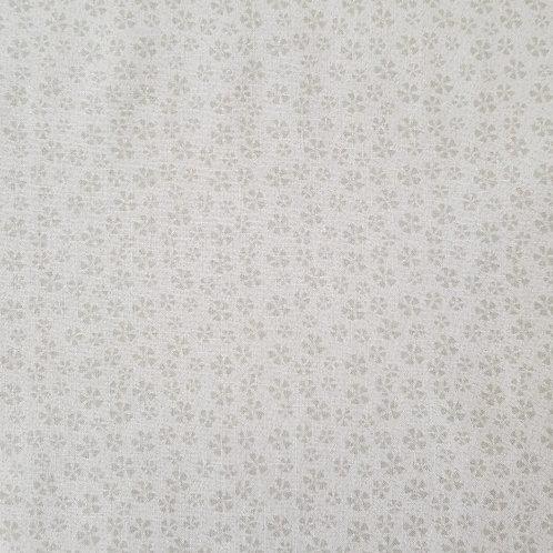 "Lynette Anderson ""Bedrock Basics"" Flowers Cream 80430 Col1 Quilt Fabric"
