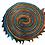 "Thumbnail: Batik ""Coral Reef"" Designer Roll - 20 x 5"" x WOF"