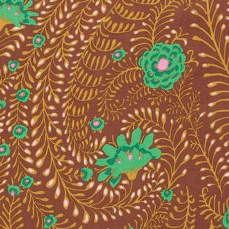 Kaffe Fassett Classics - Fern Brown PWGP147 BROWN Quilt Fabric