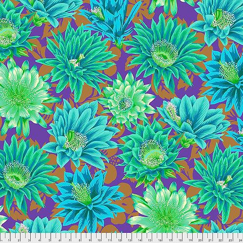 Kaffe Fassett Feb2021 - Cactus Flower PJ096 EMERALD