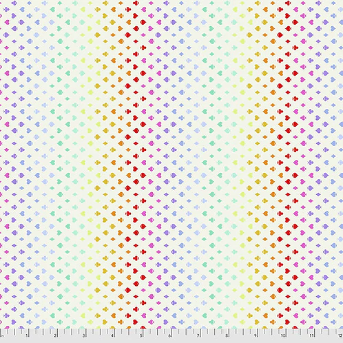 """Tula Pink """"Curiouser"""" Suited & Booted Wonder PWTP168 Quilt Fabric"""
