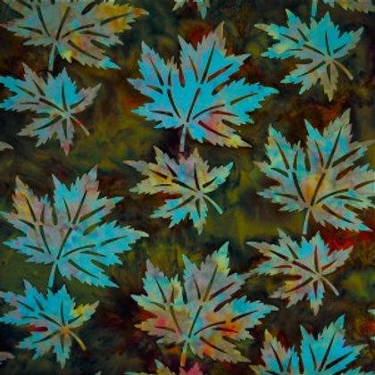 Mirah Zriya Love Nest Batik Yedra Green P/LV-01-6187 Quilt Fabric
