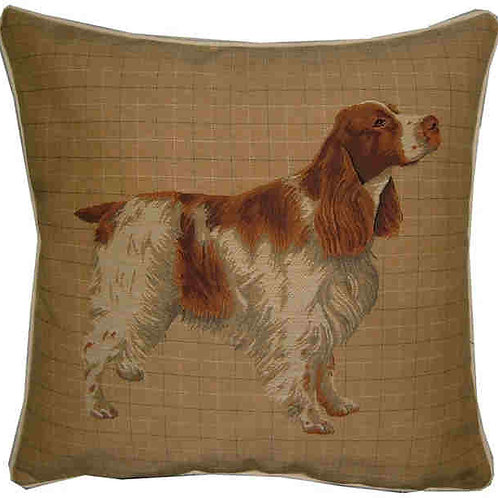 Spaniel Orange Roan Tapestry Cushion Cover