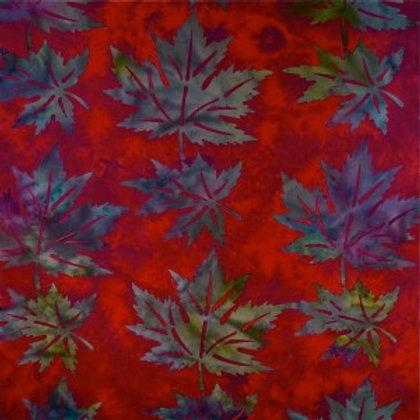 Mirah Zriya Love Nest Batik Lanai Magenta P/LV-01-5675 Quilt Fabric