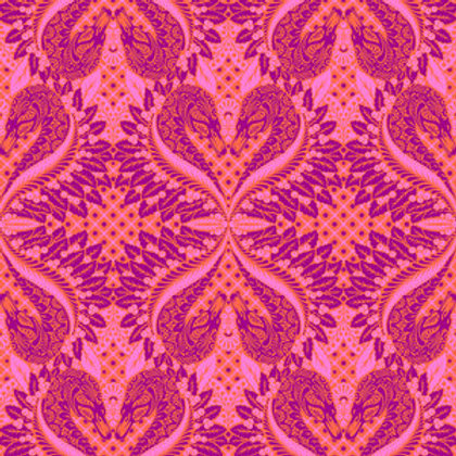 """Tula Pink """"Pinkerville"""" Gate Keeper Cottoncandy PWTP128 Quilt Fabri"""
