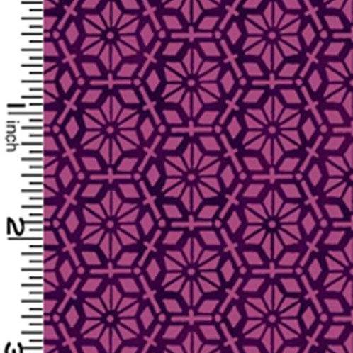 Kona Bay Geisha Dynasty GEIS-23PURPLE Quilt Fabric