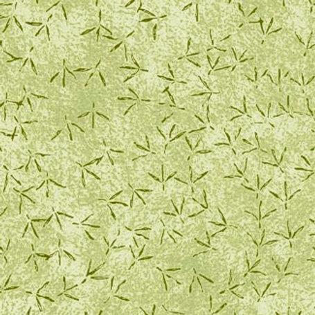 """PB Textiles """"Bird Watchers"""" Green Blender Quilt Fabric 4738.26769GRE1"""