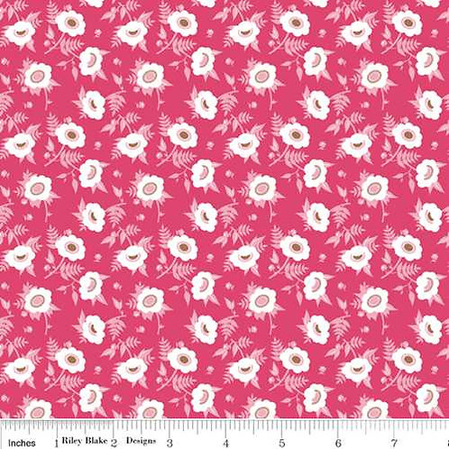 Riley Blake Dainty Blossoms Col 5 Quilt Fabric