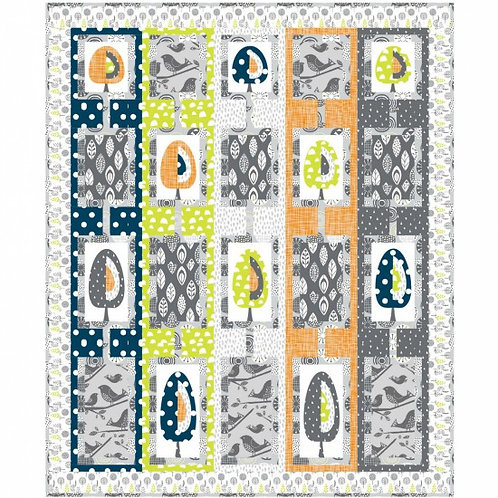 Nutex Trees in the Meadow Quilt Pattern or Kit