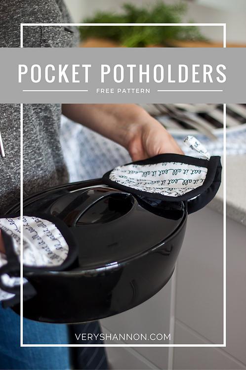 Pocket Pot Holder Pattern Free Download pdf