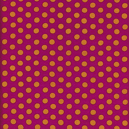 Kaffe Fassett Classics - Spot Magenta GP70 MAGEN Quilt Fabric