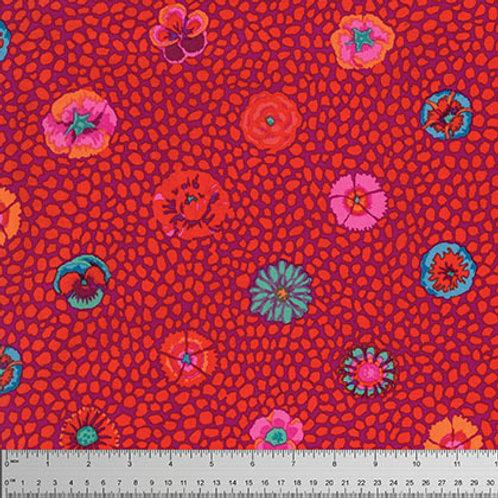 Kaffe Fassett Classics - Guinea Flower Red PWGP059 REDXX Quilt Fabric