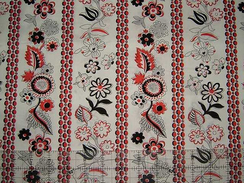 Lecien Fabulous Blooming Col 6 Quilt Fabric