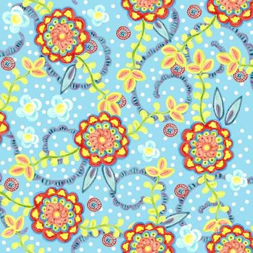 Tussie Mussie Jennifer Heyman 2JHC4 Quilt Fabric