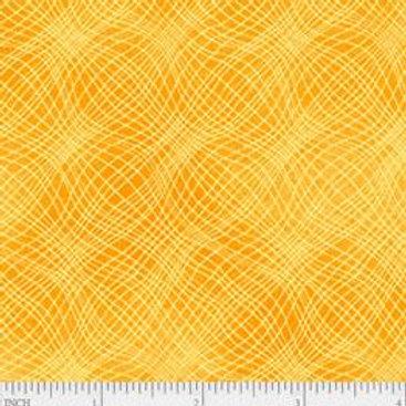 "PB Textiles ""Mesh"" Marmalade Blender Quilt Fabric 4725.26703MAR1"