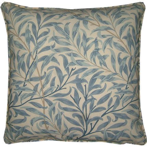 William Morris Willow Major Blue Cushion Cover