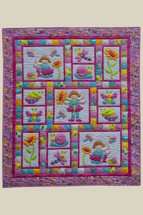 Kids Quilts 'Pixie Girl' Cot Quilt Pattern